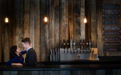 Denver beer engagement session