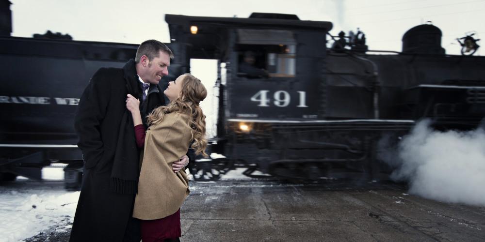 vintage engagement photographers denver