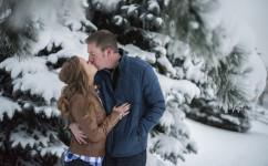 winter engagement denver colorado