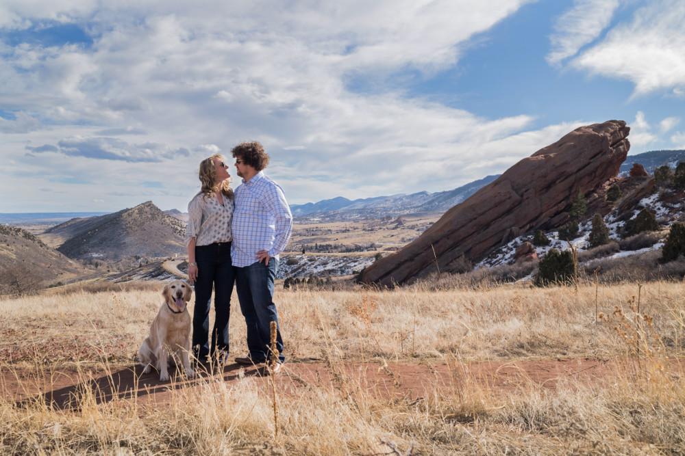 red rocks engagement