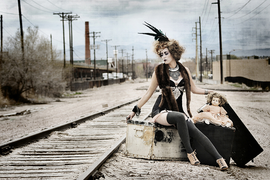 avant garde portrait photographer denver