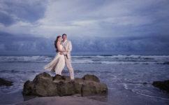 dominican beach wedding
