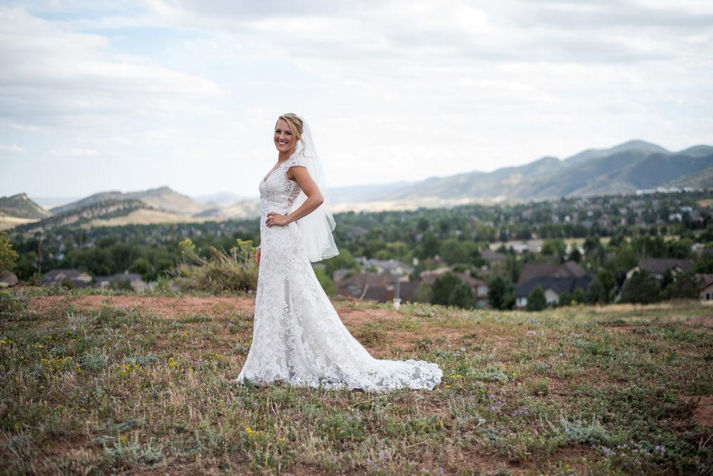 colorado bride wedding photography
