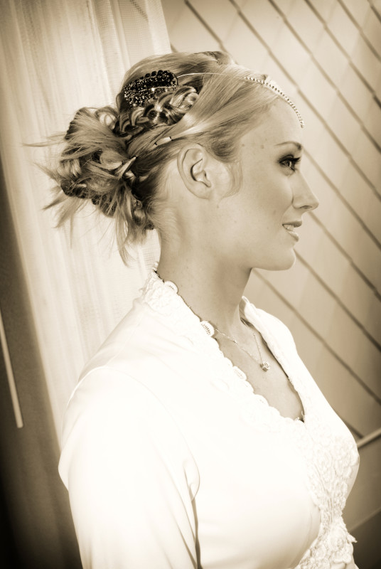 unique wedding hair denver