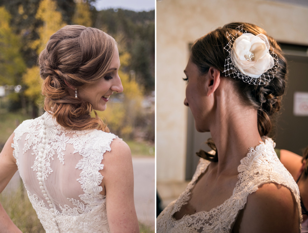 denver wedding hair & makeup