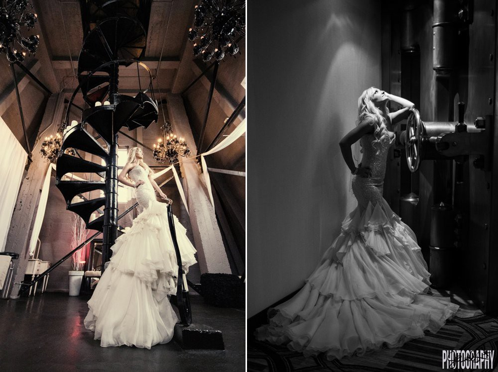 D & F Clock Tower Wedding