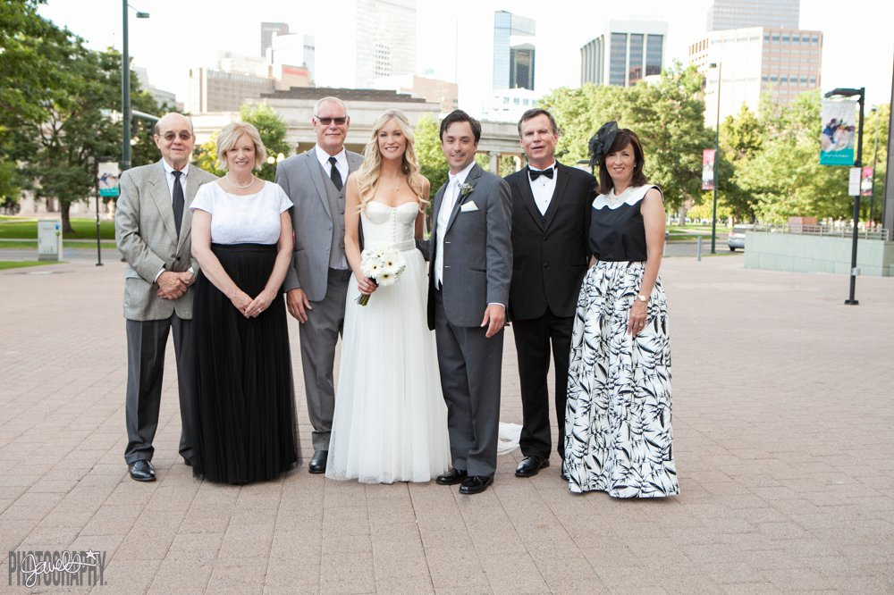 Denver Art Museum - Colorado Wedding Photography