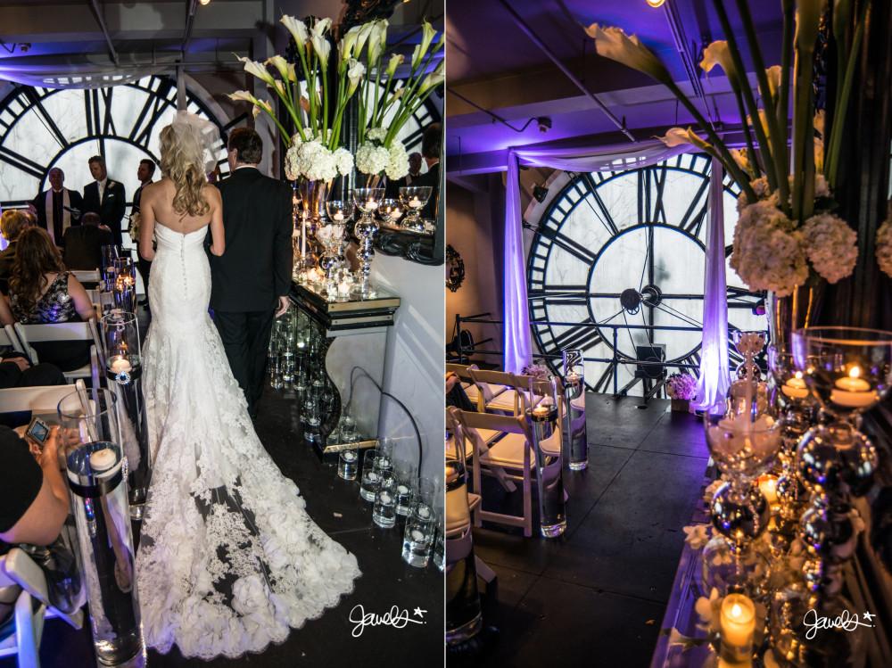 clock tower wedding