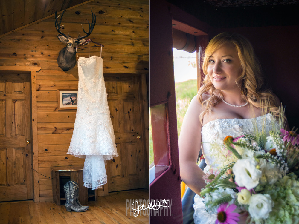 rustic colorado wedding