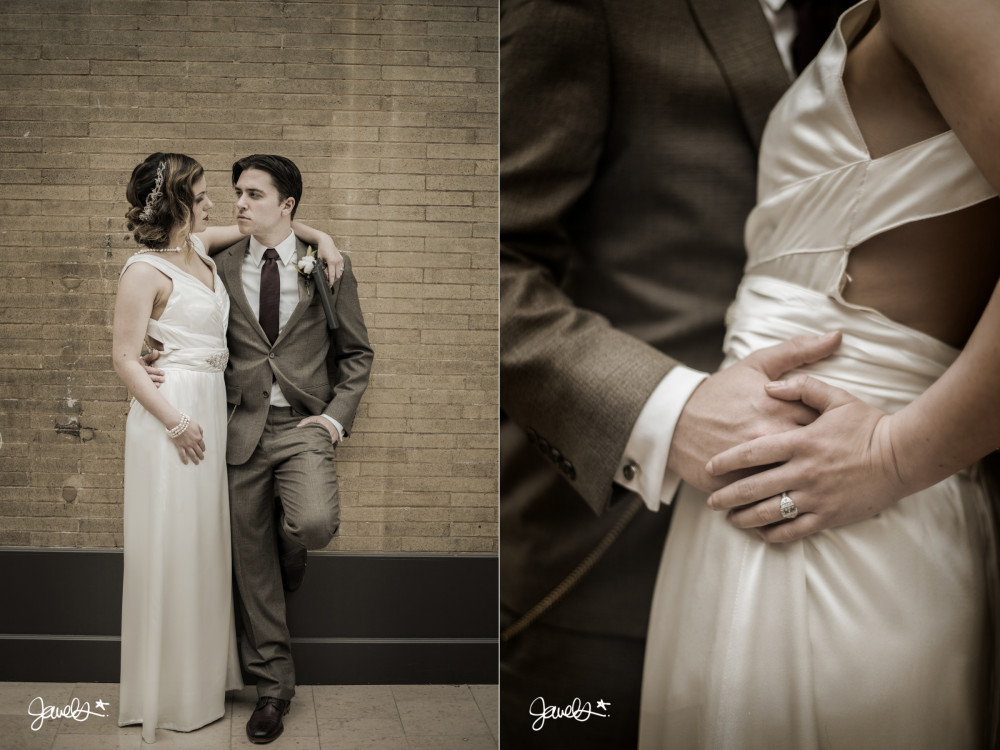bonnie & clyde denver wedding photographer