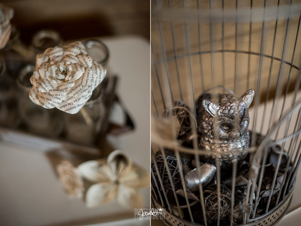 diy denver rustic wedding details