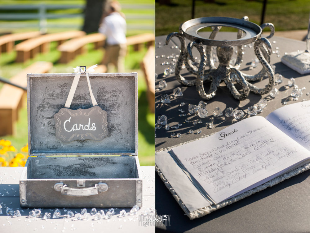 wedding details barn at raccoon creek