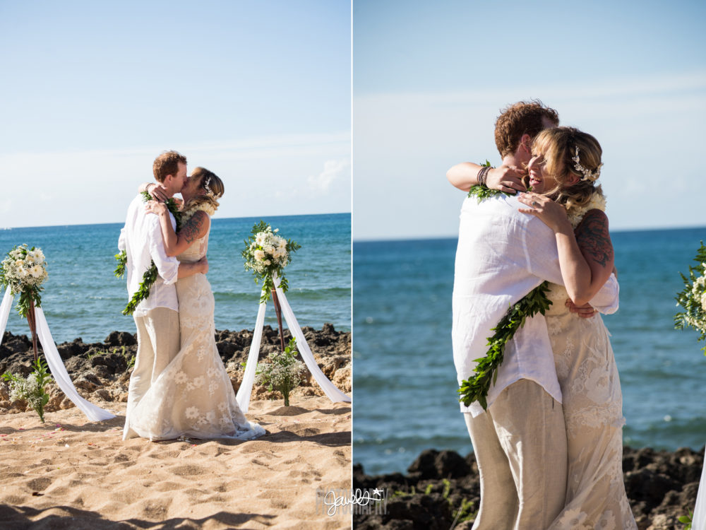 destination wedding hawaii beach photography