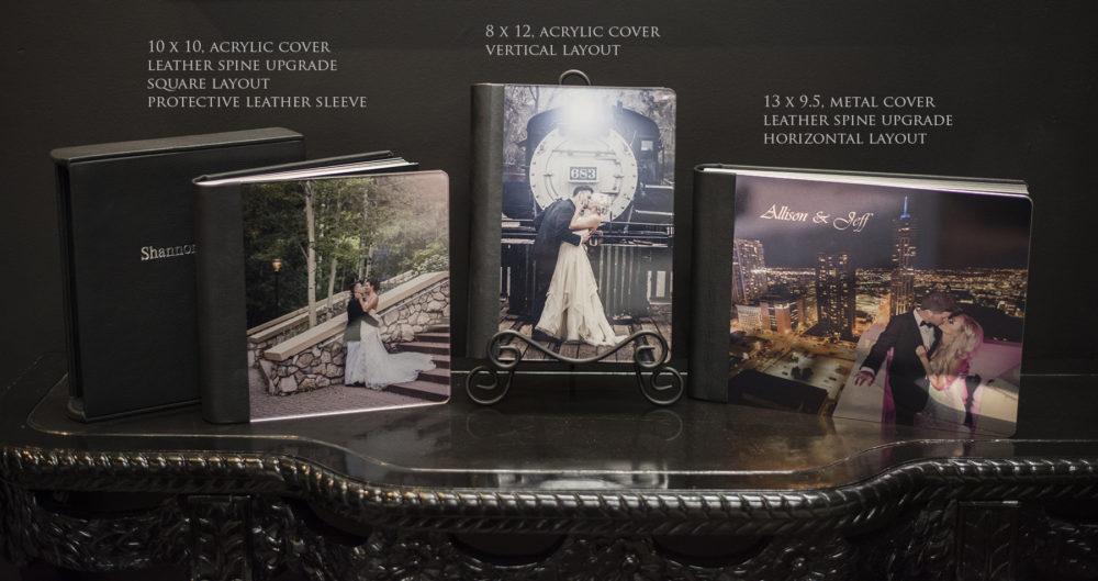 denver wedding photography album