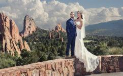 rocky mountain bride garden of the gods colorado springs