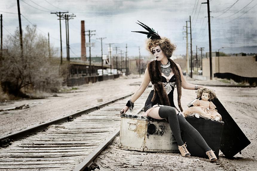 avant garde portrait photographer denver
