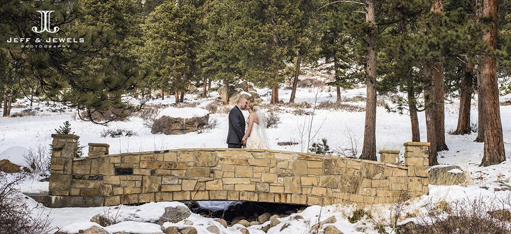wedding photography at Della Terra Estes Park