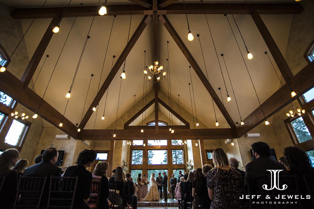 Ceremony photos at Della Terra