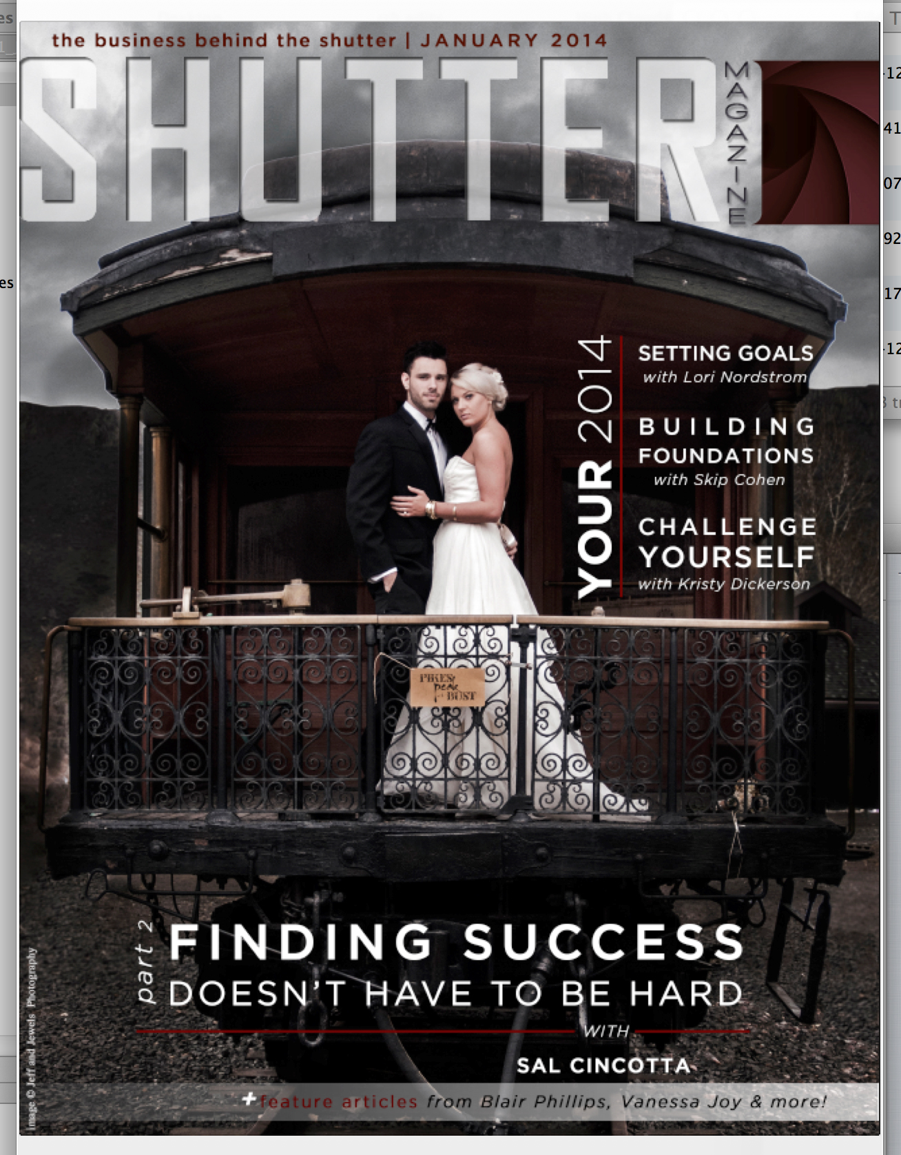 denver wedding photographer featured on cover of Shutter Mag