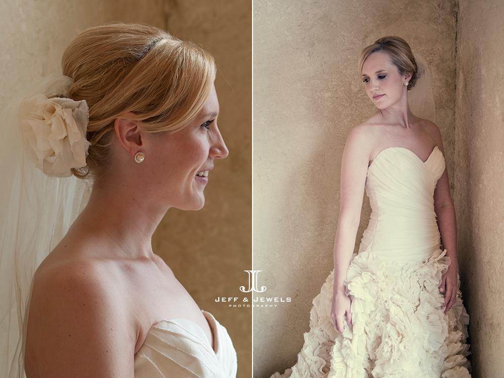 Bridal portraits at Della Terra