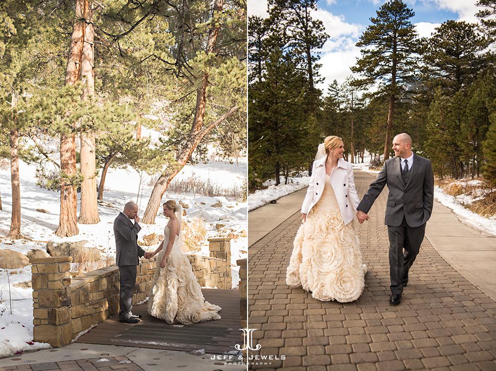 Wedding photography in Estes Park