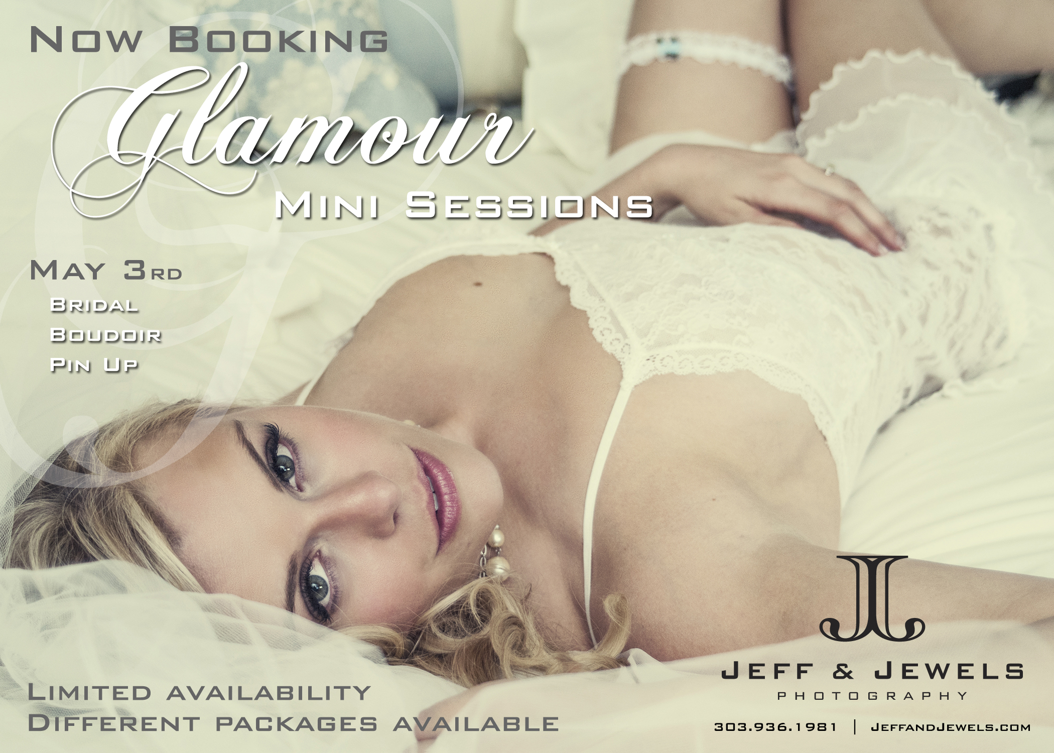 Glamour boudoir pin up Denver portrait photographer