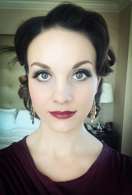 vintage hair & makeup denver