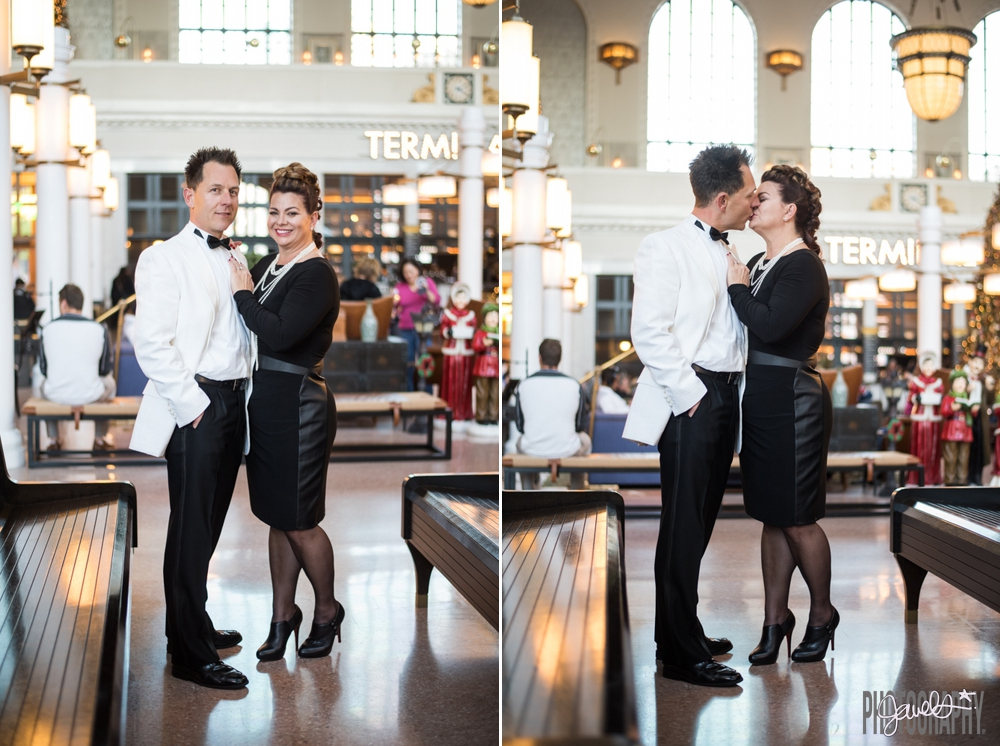 Union Station Engagement - Photography By Jewels