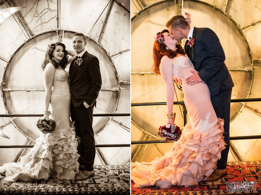 Denver Clock Tower Wedding