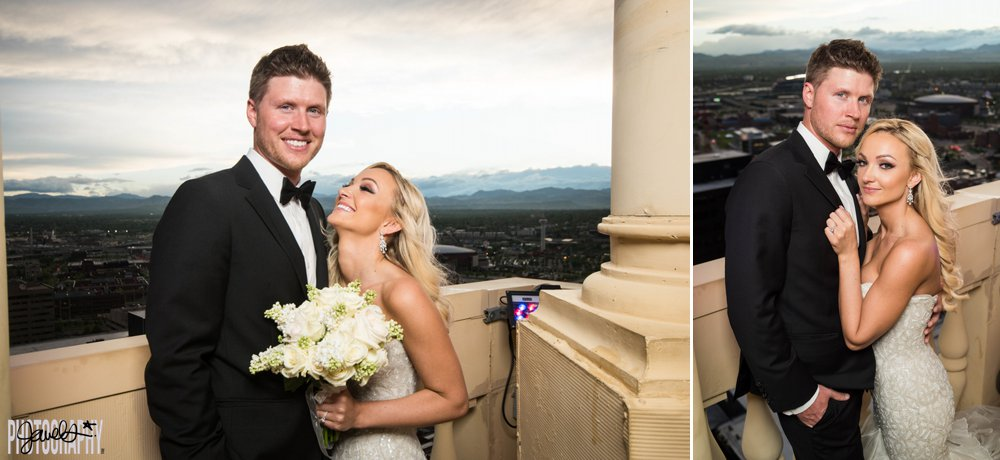 D & F Clock Tower - denver wedding photography