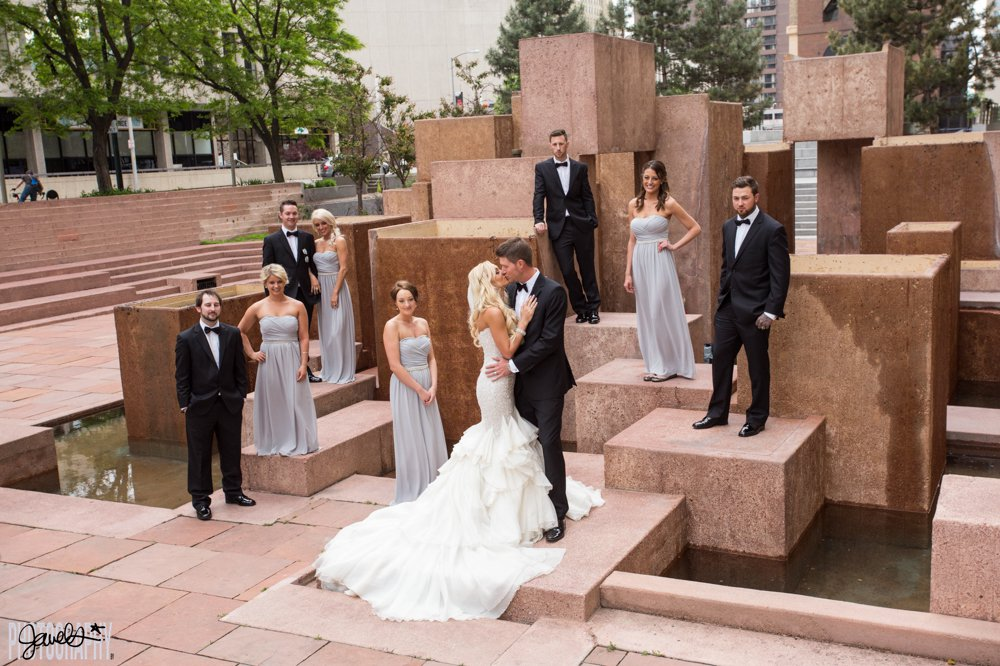 D & F Clock Tower - colorado wedding