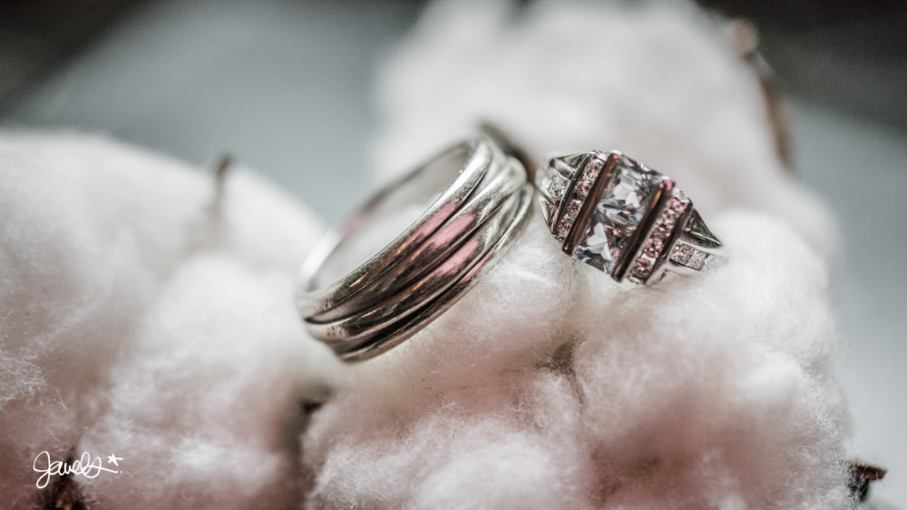 bonnie & clyde wedding details rings