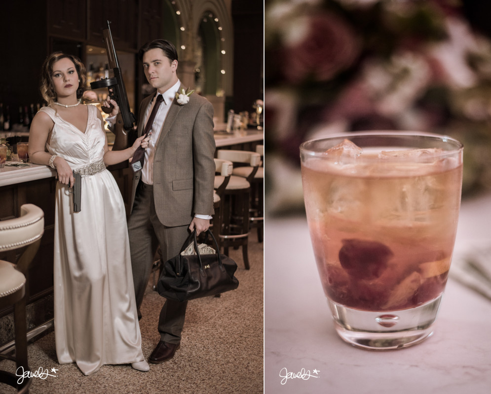 bonnie & clyde wedding photography
