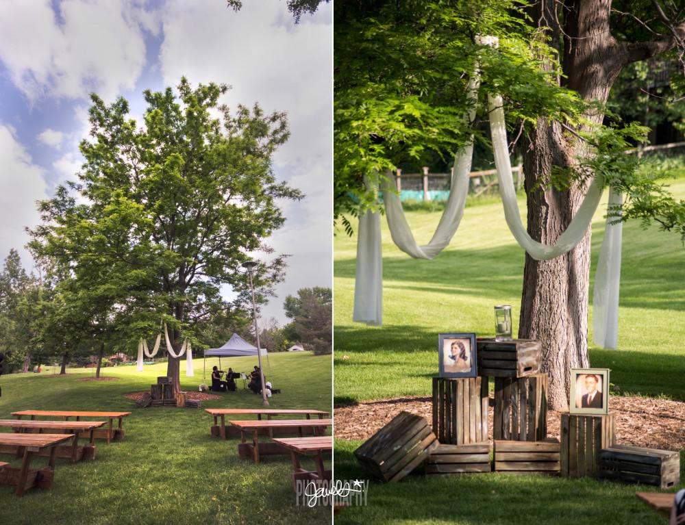 outdoor denver wedding