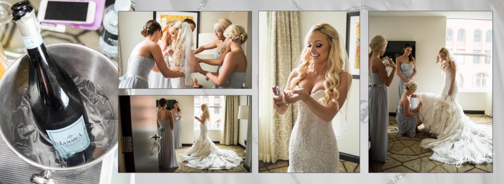 Urban Denver bride