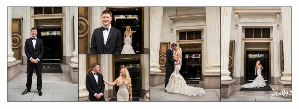Renaissance Hotel downtown Denver wedding