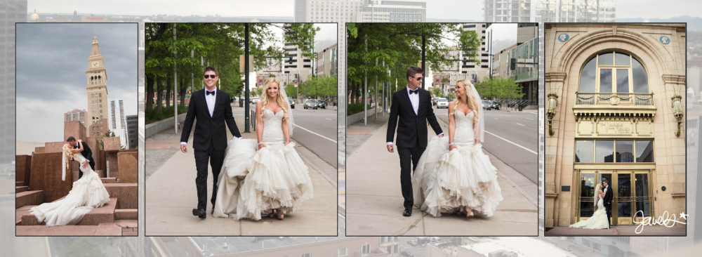 Downtown Denver wedding photography
