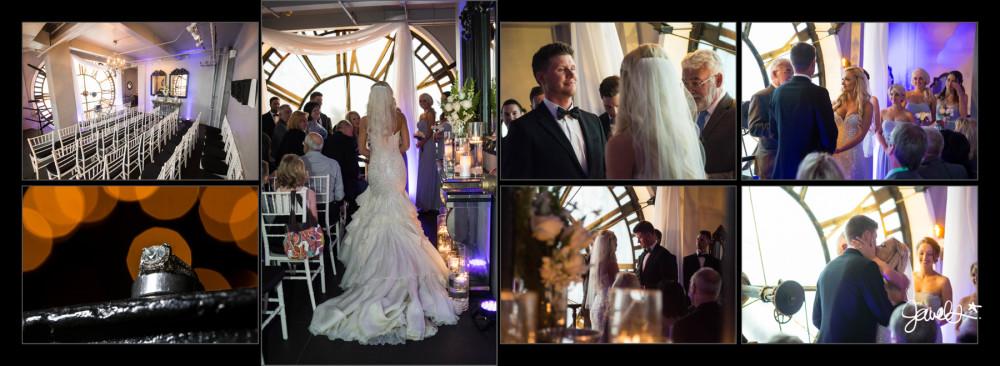 Clock tower wedding photography Denver