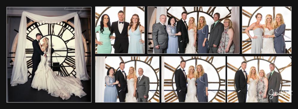 D&F Clockt Tower wedding