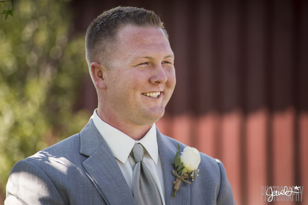 denver wedding groom first look