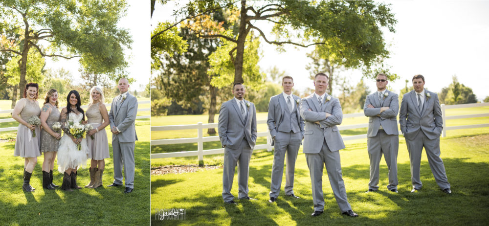 denver bridal party