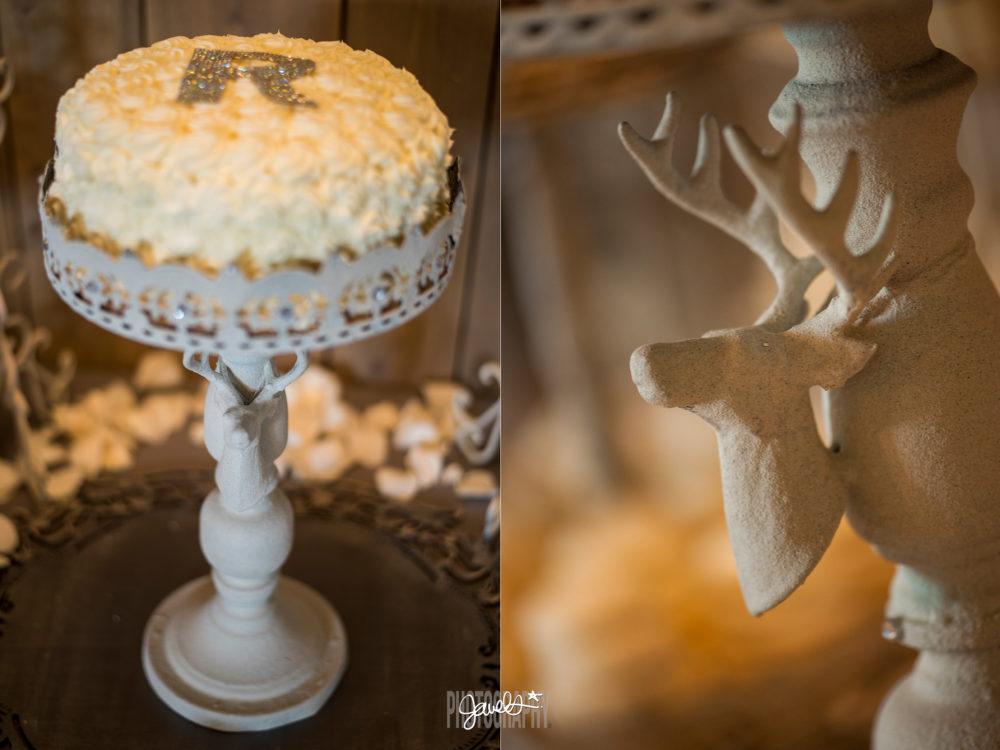 rustic denver diy wedding cake details