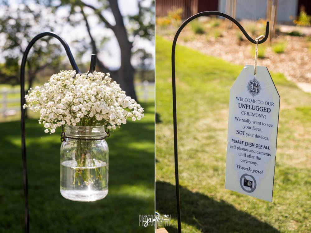denver wedding ceremony details