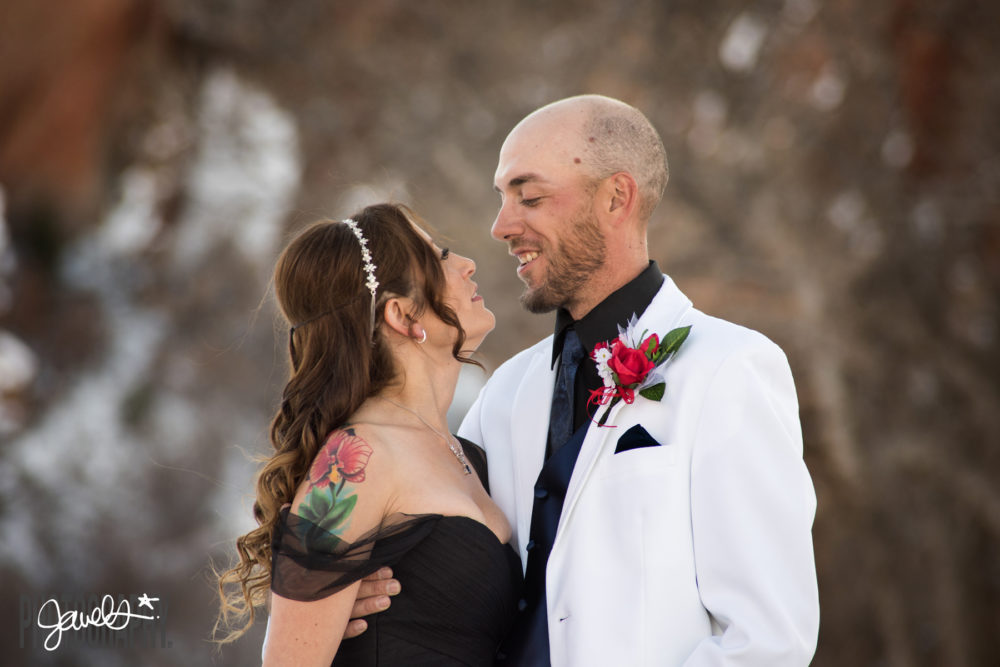 rocky mountain bride wedding