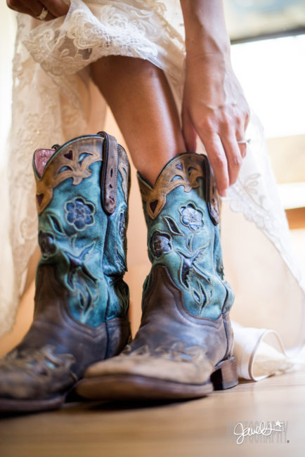 colorado farm wedding boots