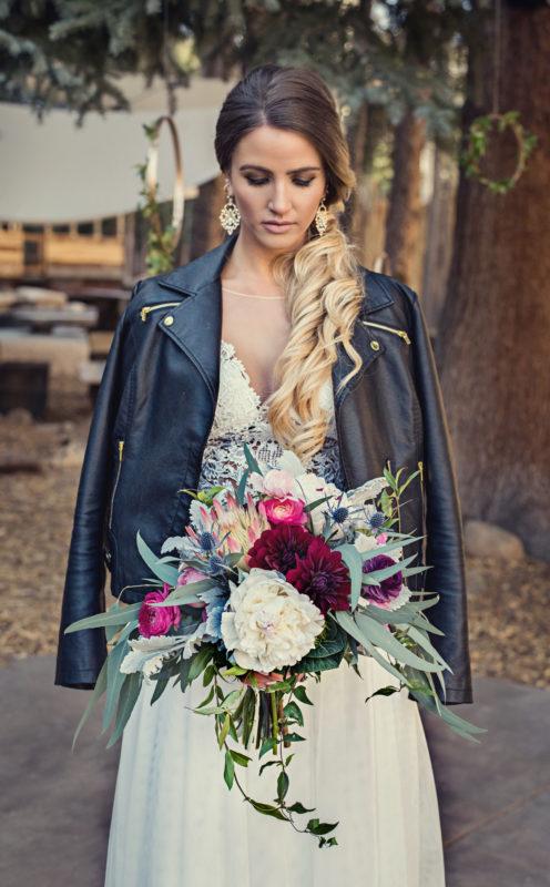 rocky mountain colroado bride