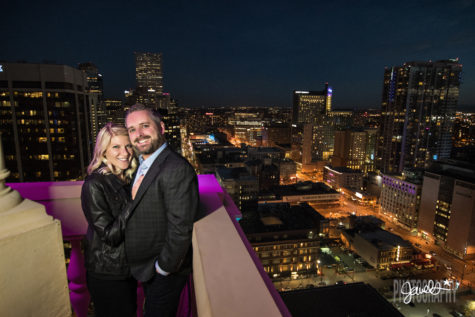 denver clock tower engagement