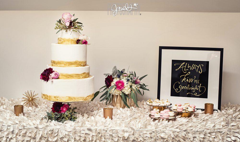 modern rustic wedding decor