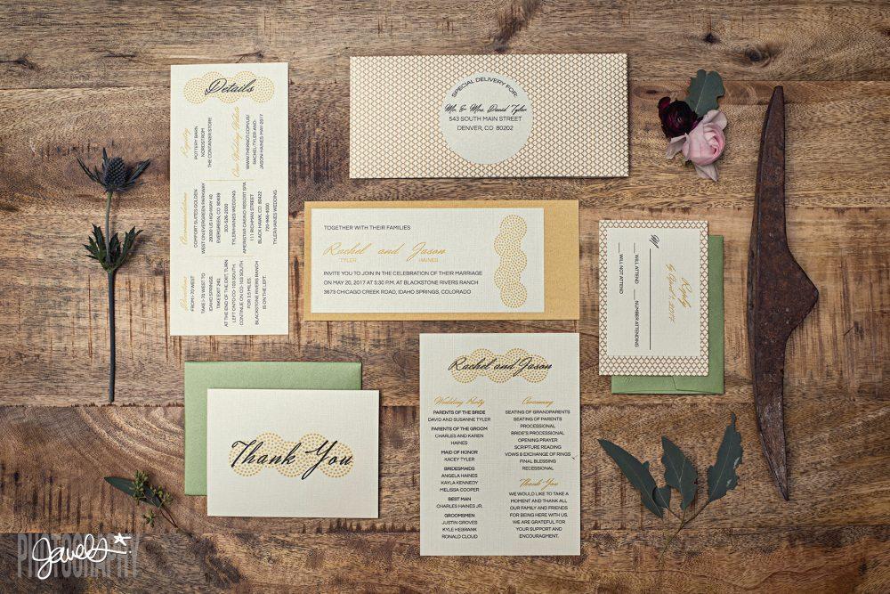 colorado mountain wedding invitations