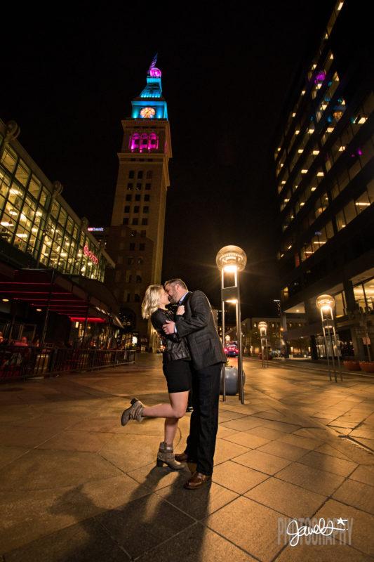 downtown denver engagement